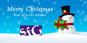 Merry Christmas from sfG Software