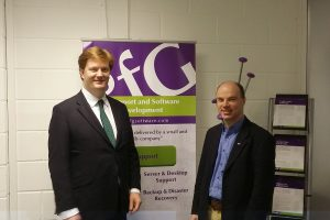 Danny Alexander MP Visits sfG Software